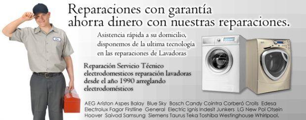 Reparaciones de Electrodomésticos  Gandia baratos