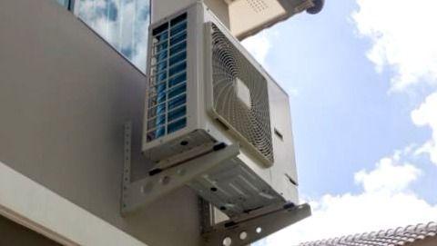 instalacion de un aire acondicionado